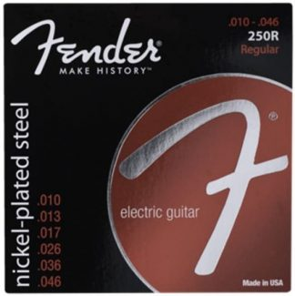 Fender Super 250's Nickel-Plated Steel Strings 10-46