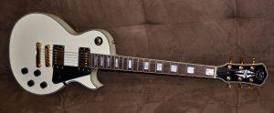 J&D Luthiers Les Paul Custom - White