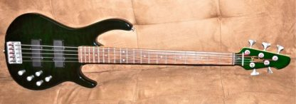 Freedom Five String Bass Green