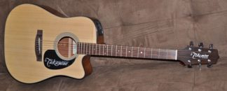 Takamine D series ED 20 SC NS new Cutaway Electric