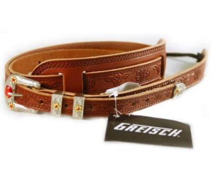 Gretsch G6332 DLX Vint Tooled Russett