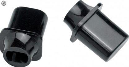 Fender Switch Tip - Tele 'Top Hat' Black (2)