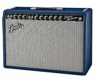 """Fender Deluxe Reverb USLimited Edition Navy Blue """"1 of 10 for Oz"""""""