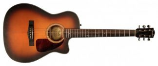Fender CF-140SCE Sunburst Satin Folk