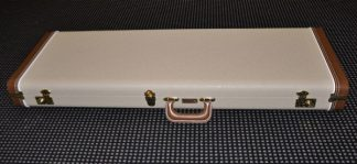 Fender Case - G&G Blonde Tolex Brown Cap / Gold Poodle Lining Strat / Tele LTD