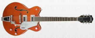 Gretsch G5422T Electromatic Orange Hollow Body Double-Cut Bigsby