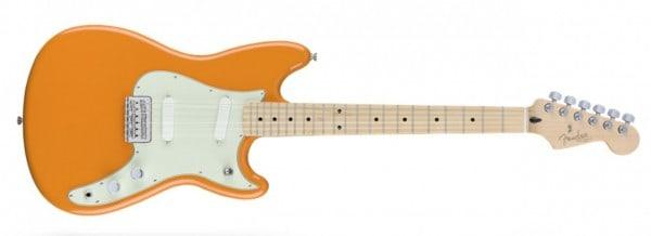 Fender Duo-Sonic Carpi Orange - extrvideo + pics