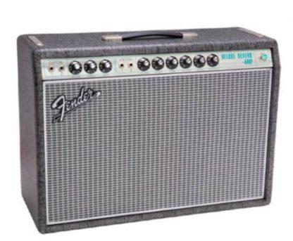 Fender Ltd Ed 68 Deluxe reverb gunmetal grey Celestion greenback