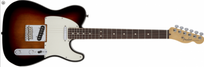 Fender American Standard Telecaster Sunburst Rosewood Neck
