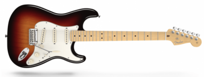 Fender Stratocaster American Standard 3-Colour Sunburst