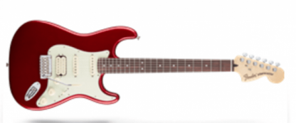 Fender Deluxe Strat HSS Candy Apple Red - extrvideo + pics