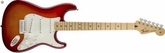 Fender Standard Stratocaster Plus Top Aged Cherry Burst