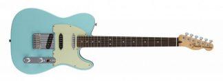Fender Deluxe Nashville Tele - Daphne Blue - Rosewood Board - extrvideo + pics