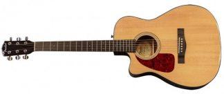 Fender CF-140SCE Left Handed Natural Aust LTD