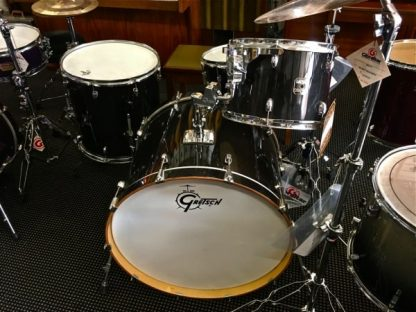 Gretsch CatalinClub CT1-R444C + Bosphorus Cymbals With Gibraltar Stands in Piano Black