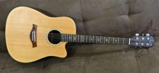 Lukey Dreadnought Cutaway Acoustic