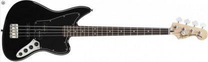 Squier by Fender Jaguar Bass Special Black Vintage Mod