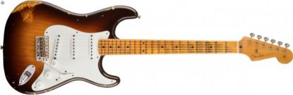 Fender Custom Shop 1955 STRAT HEAVY RELIC - Wide Fade Choc 2TS