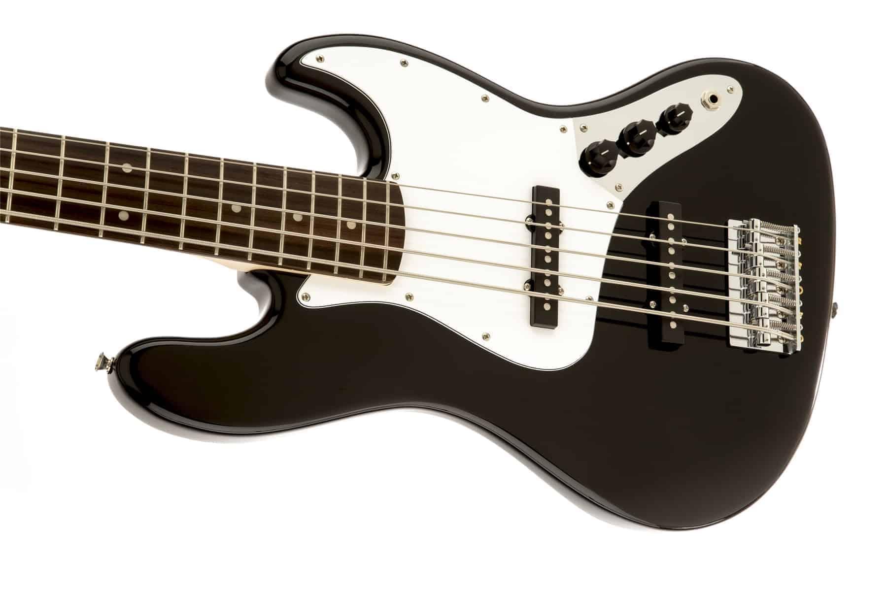 squier by fender affinity jazz bass v five string black. Black Bedroom Furniture Sets. Home Design Ideas