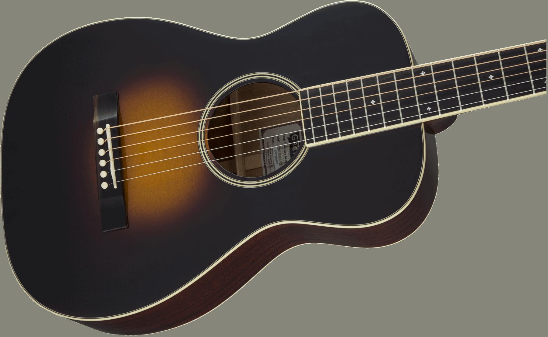 Gretsch Acoustic Guitars >> Gretsch G9511 Style 1 Single 0 Parlour Acoustic Guitar Appalachi Cloudburst