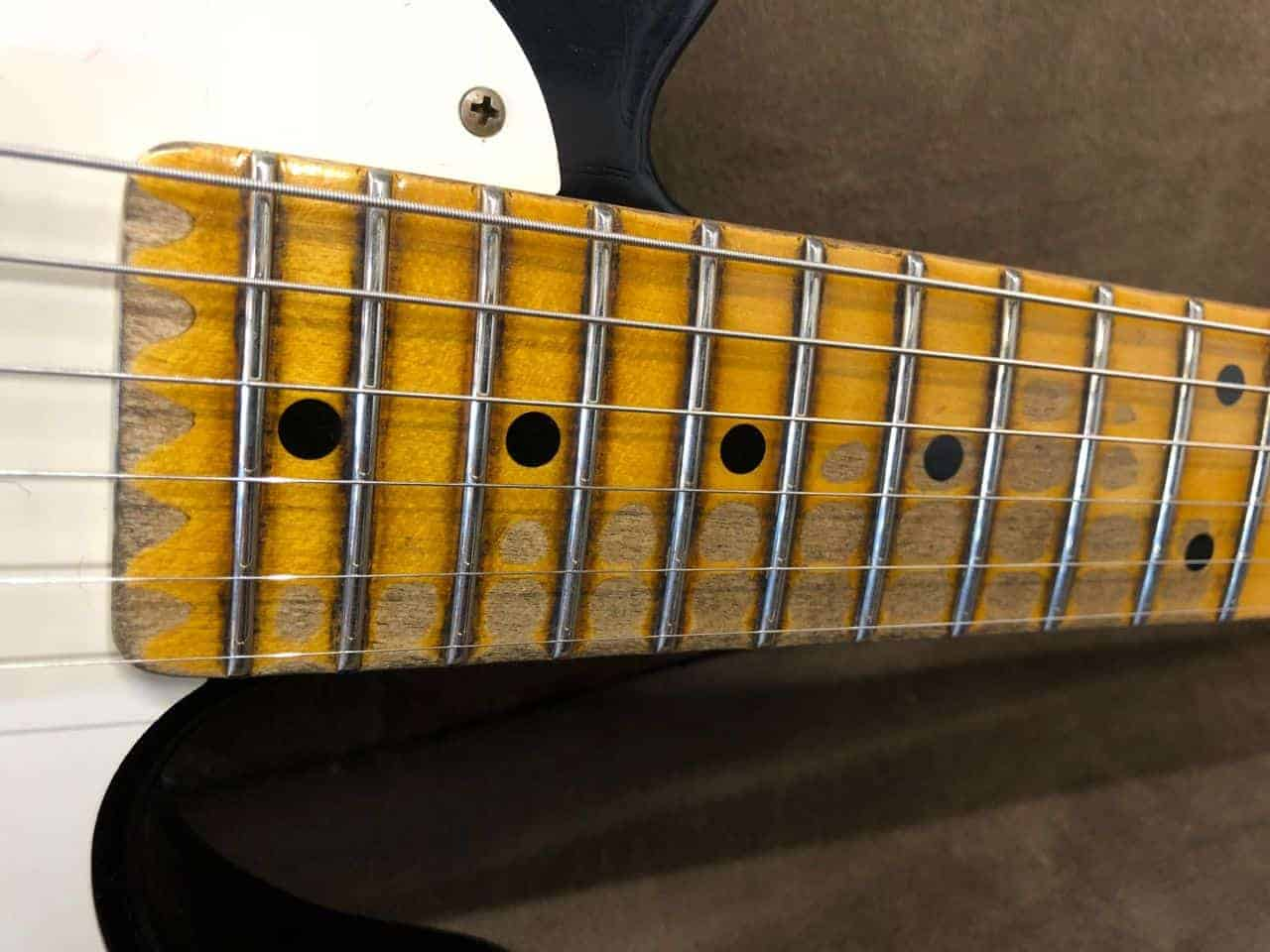 Fender 1954 Telecaster Heavy Relic Custom Shop Maple Fingerboard Sale On Texas Special Pickups Wiring